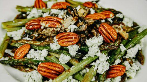 Asparagus Mushroom Salad