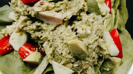 Bone Suckin' Avocado Tuna Salad
