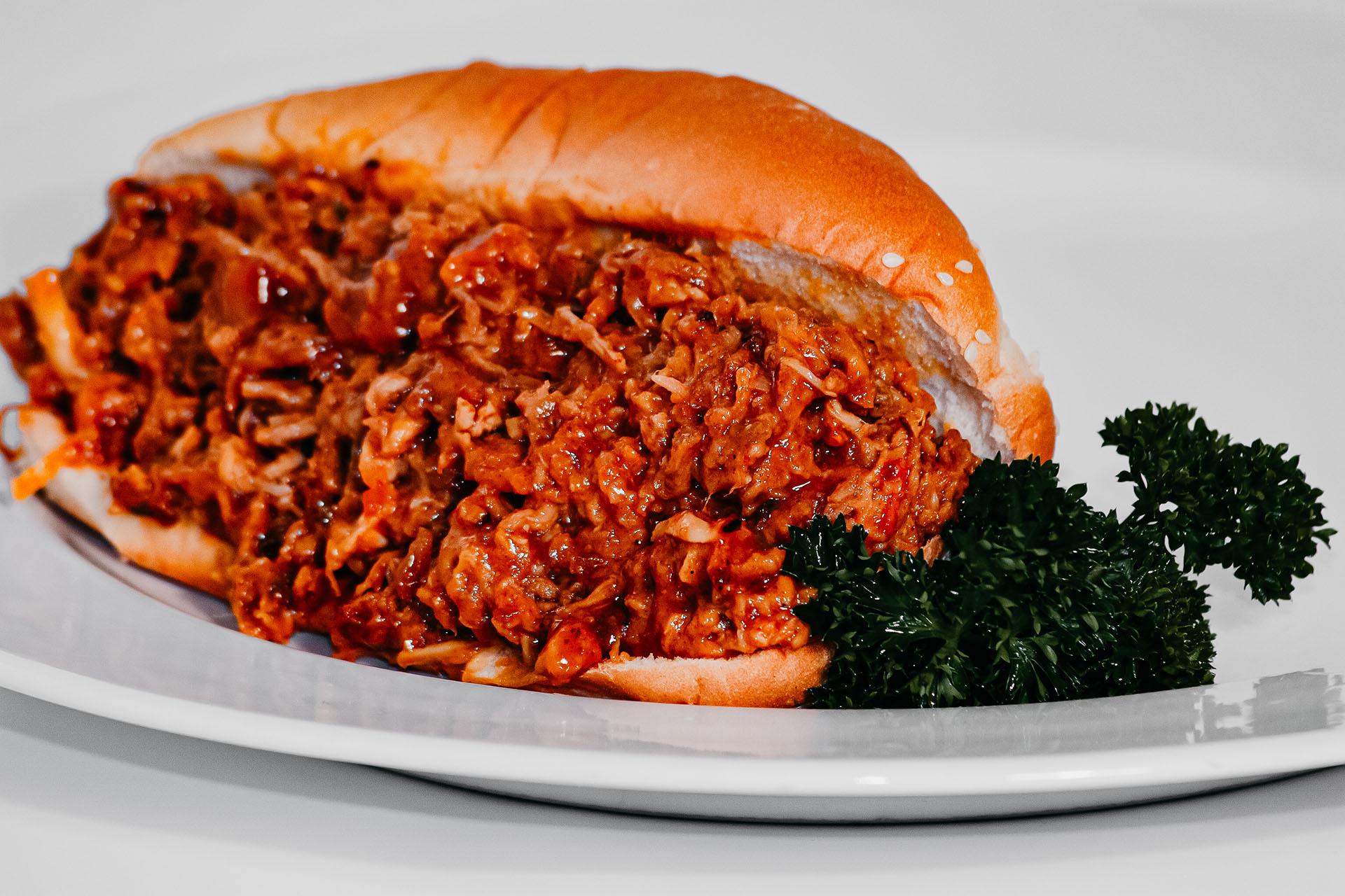 Bone Suckin' BBQ Mustard Sandwich