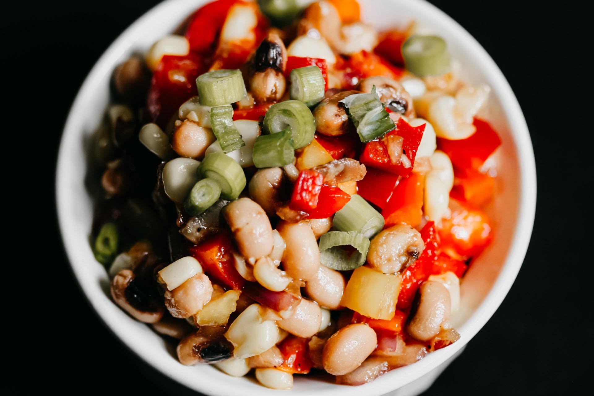 Bone Suckin' Black Eyed Pea Salad