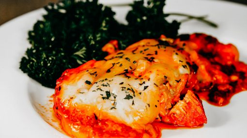Bone Suckin' Cheesy Italian Chicken