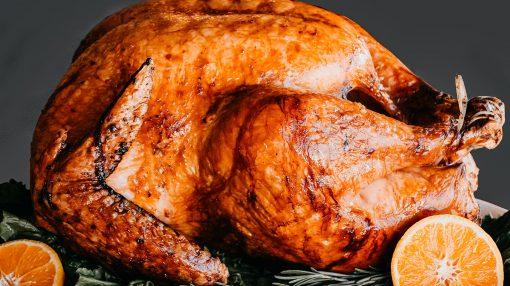 Bone Suckin' Grilled Turkey