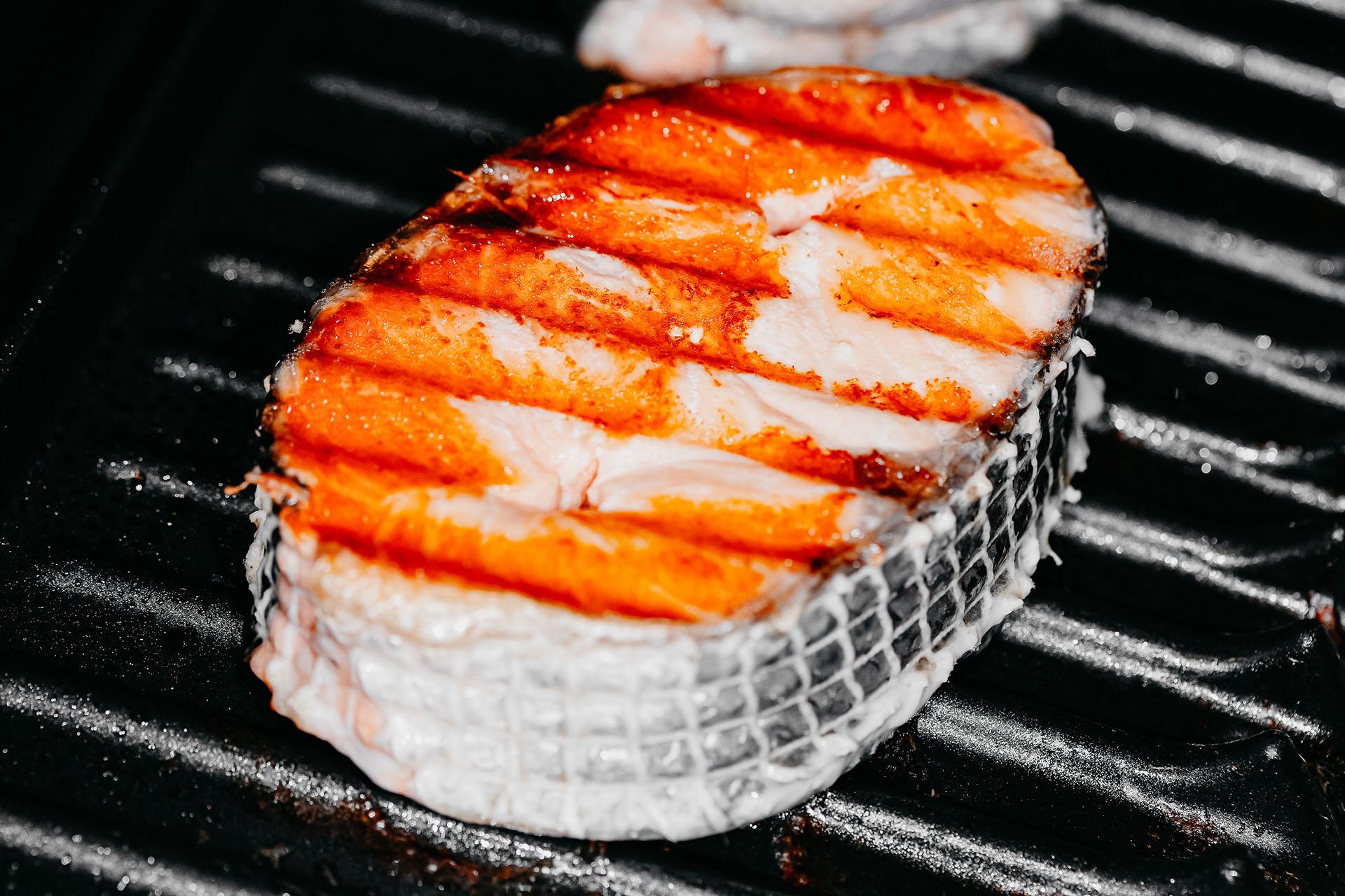 Bone Suckin' King Mackerel Steaks