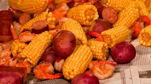 Bone Suckin' Low Country Boil