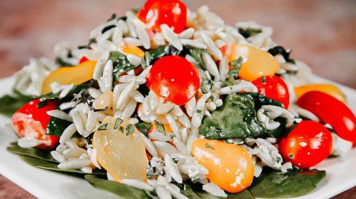 Bone Suckin' Orzo Salad