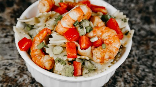 Bone Suckin' Shrimp and Pasta Salad