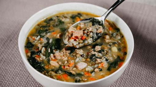 Bone Suckin' Turkey Lentil Soup