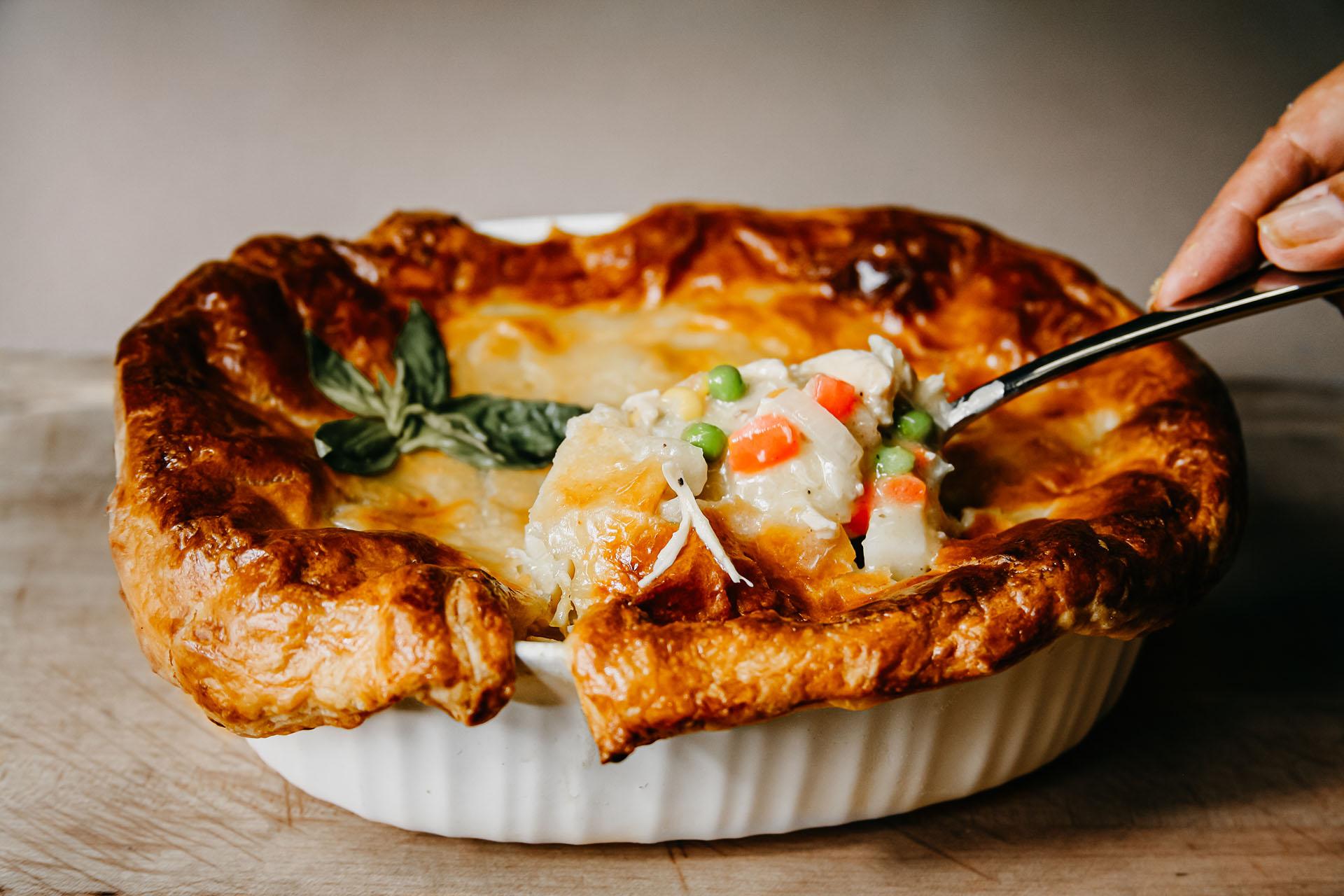 Bone Suckin' Turkey Pot Pie