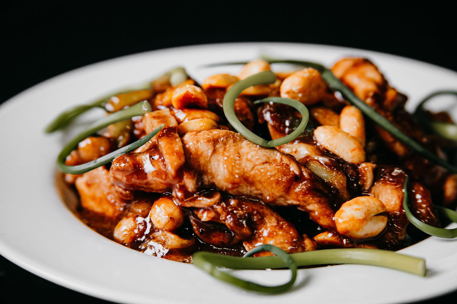 Bone Suckin' Kung Pao Chicken