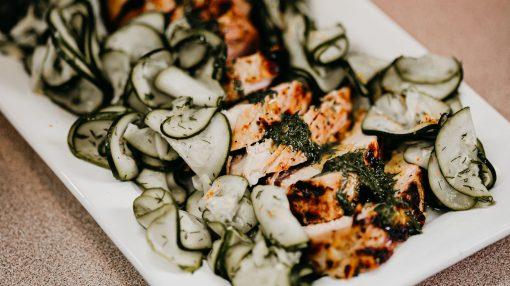 Bone Suckin' Zucchini Pickles