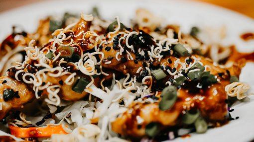 Bone Suckin' Asian Chicken Salad