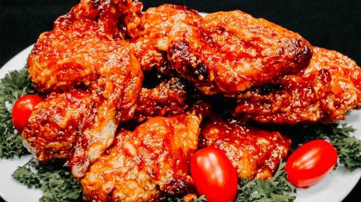 Bone Suckin' BBQ Fried Chicken