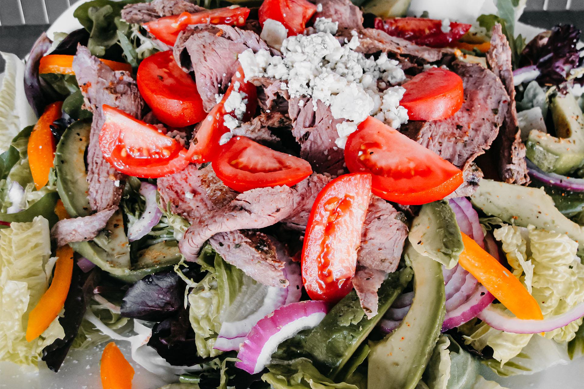 Bone Suckin' Carne Asada Salad