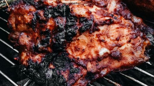 Bone Suckin' Grilled Chicken with Steak Sauce