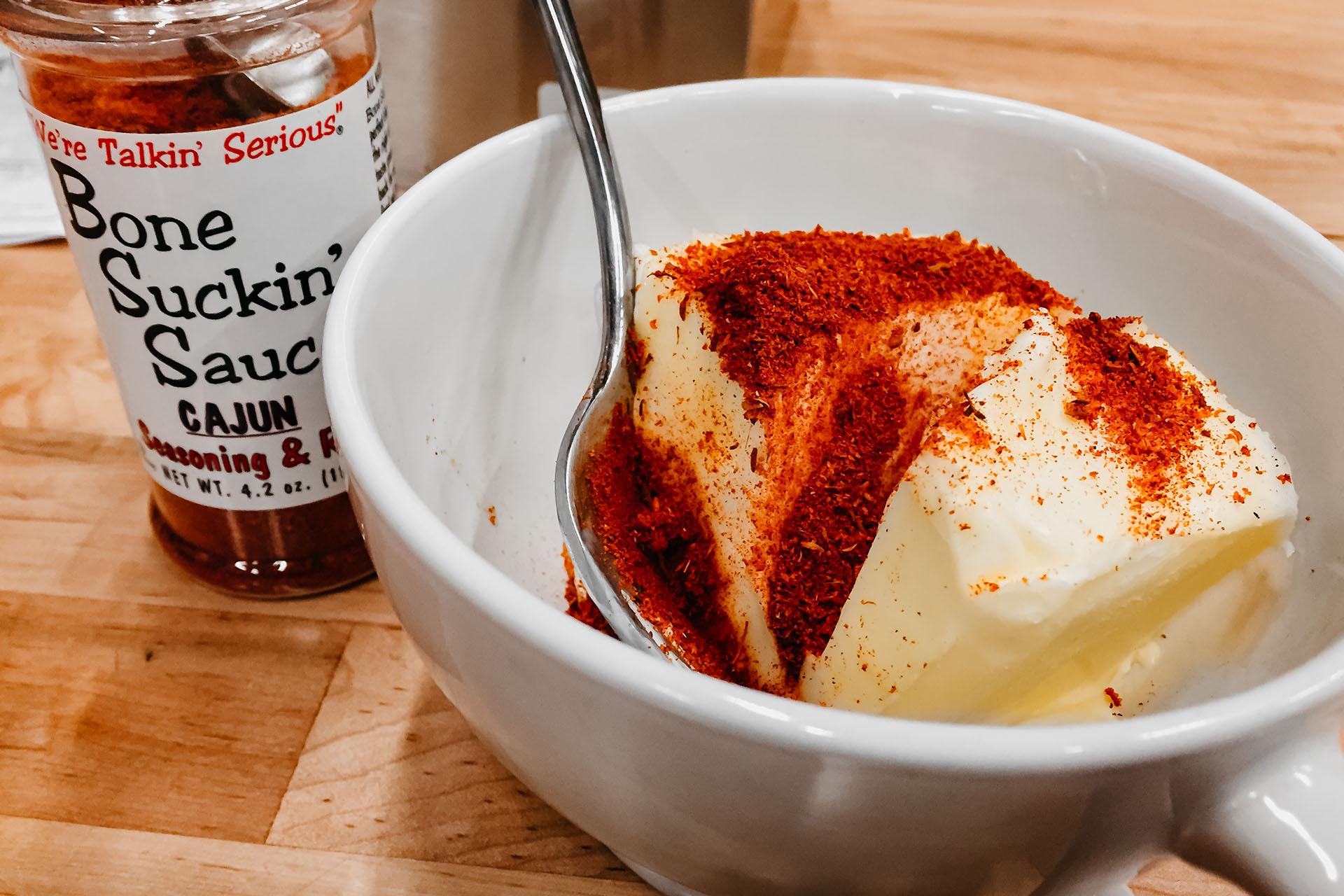 Bone Suckin' Cajun Butter