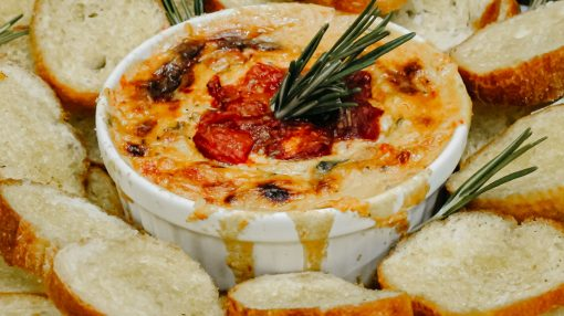 Bone Suckin' Roasted Tomato Brie Dip