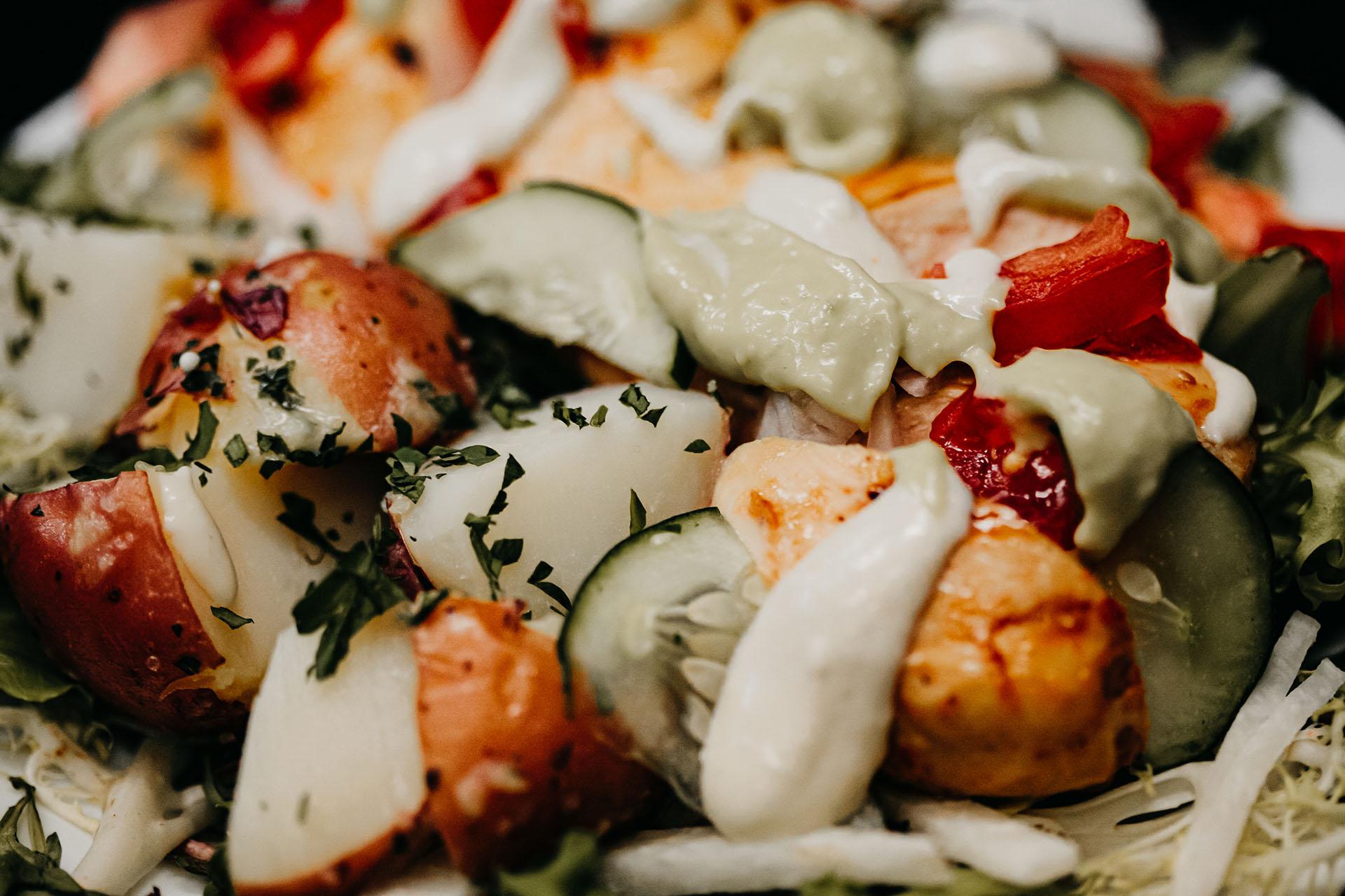 Bone Suckin' Barbecue Chicken Salad