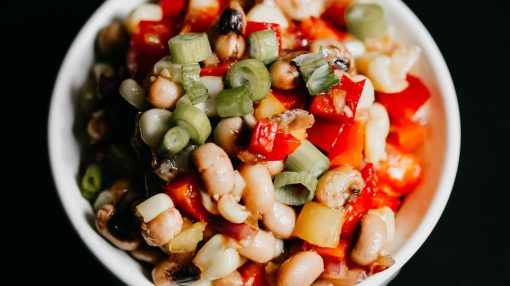 Bone Suckin' Black Eyed Pea Salad