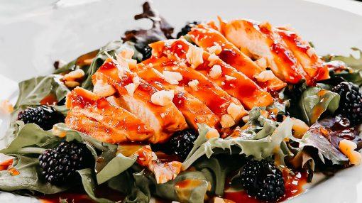 Bone Suckin' Blackberry Chicken Salad