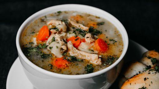 Bone Suckin' Chicken Noodle Soup