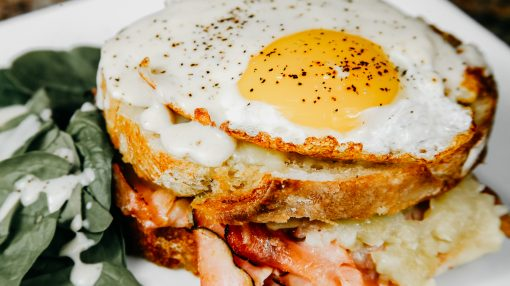 Bone Suckin' Croque Madame