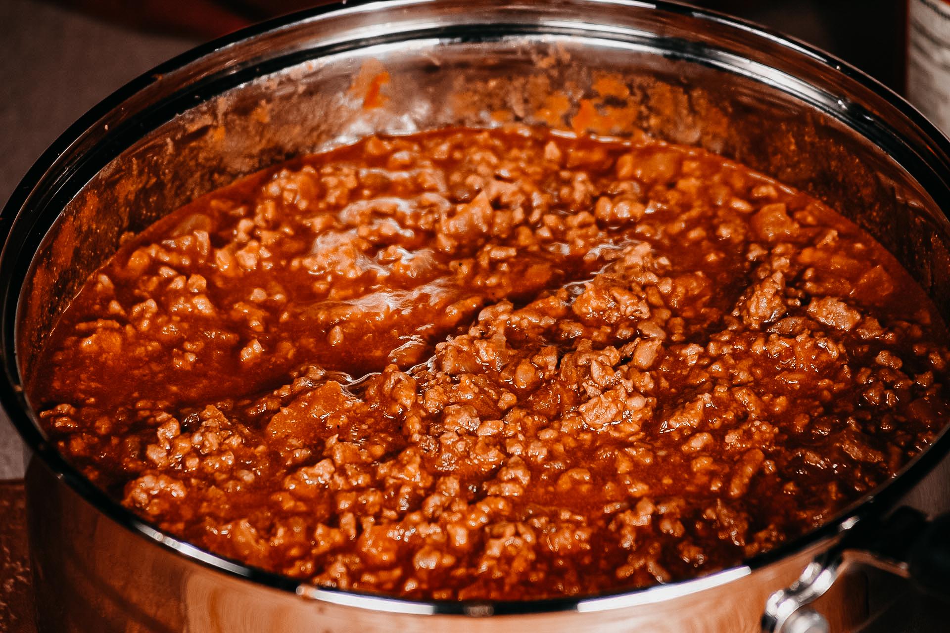 Bone Suckin' Hot Dog Chili