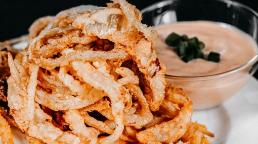 Bone Suckin' Onion Strings