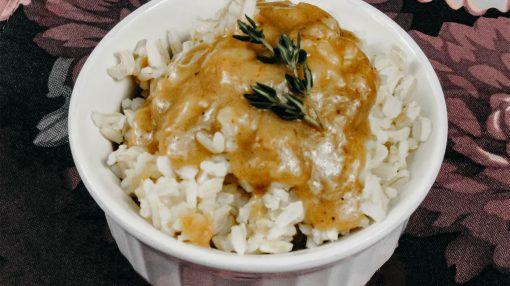 Bone Suckin' Rice and Gravy