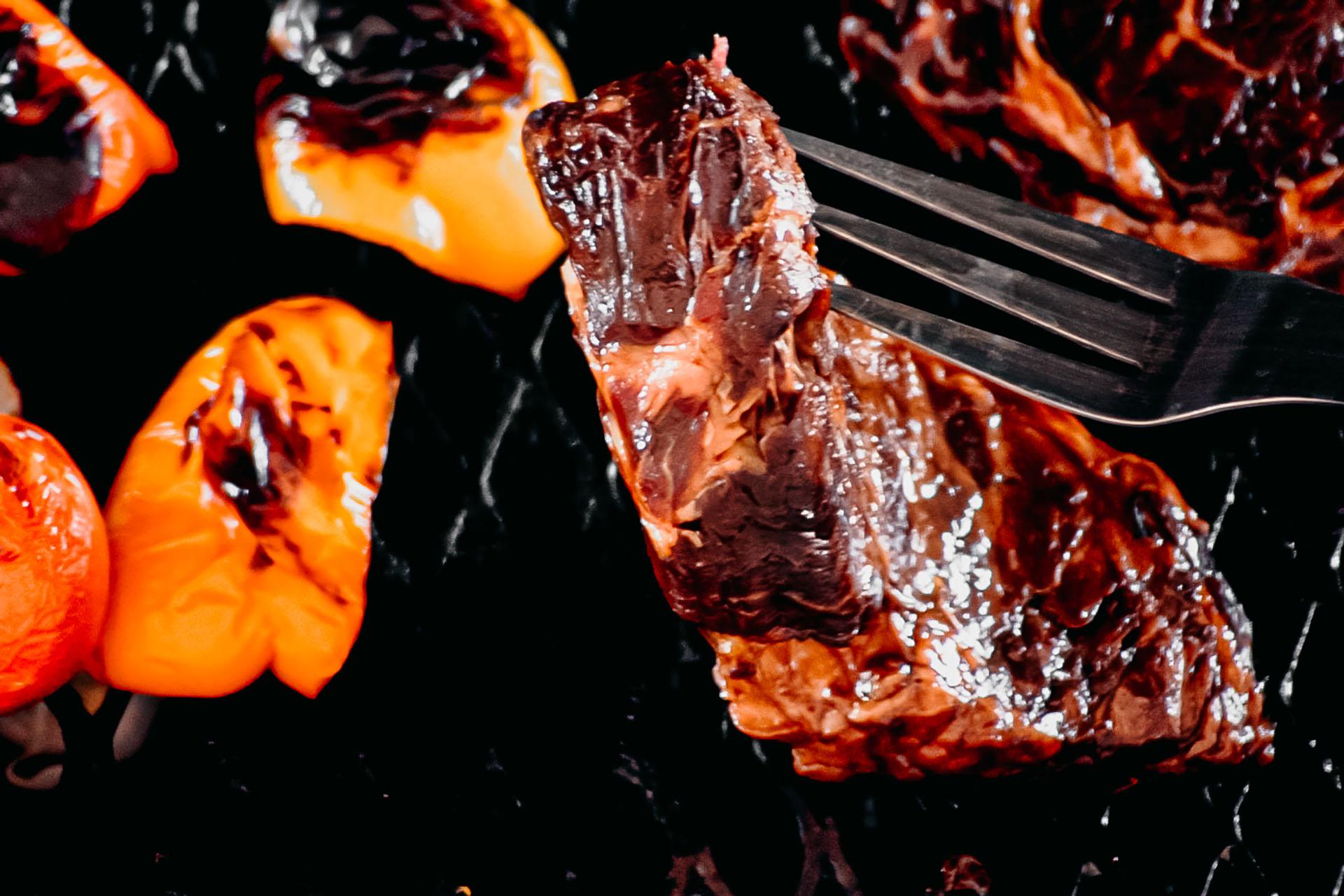 Bone Suckin' Yaki Steak