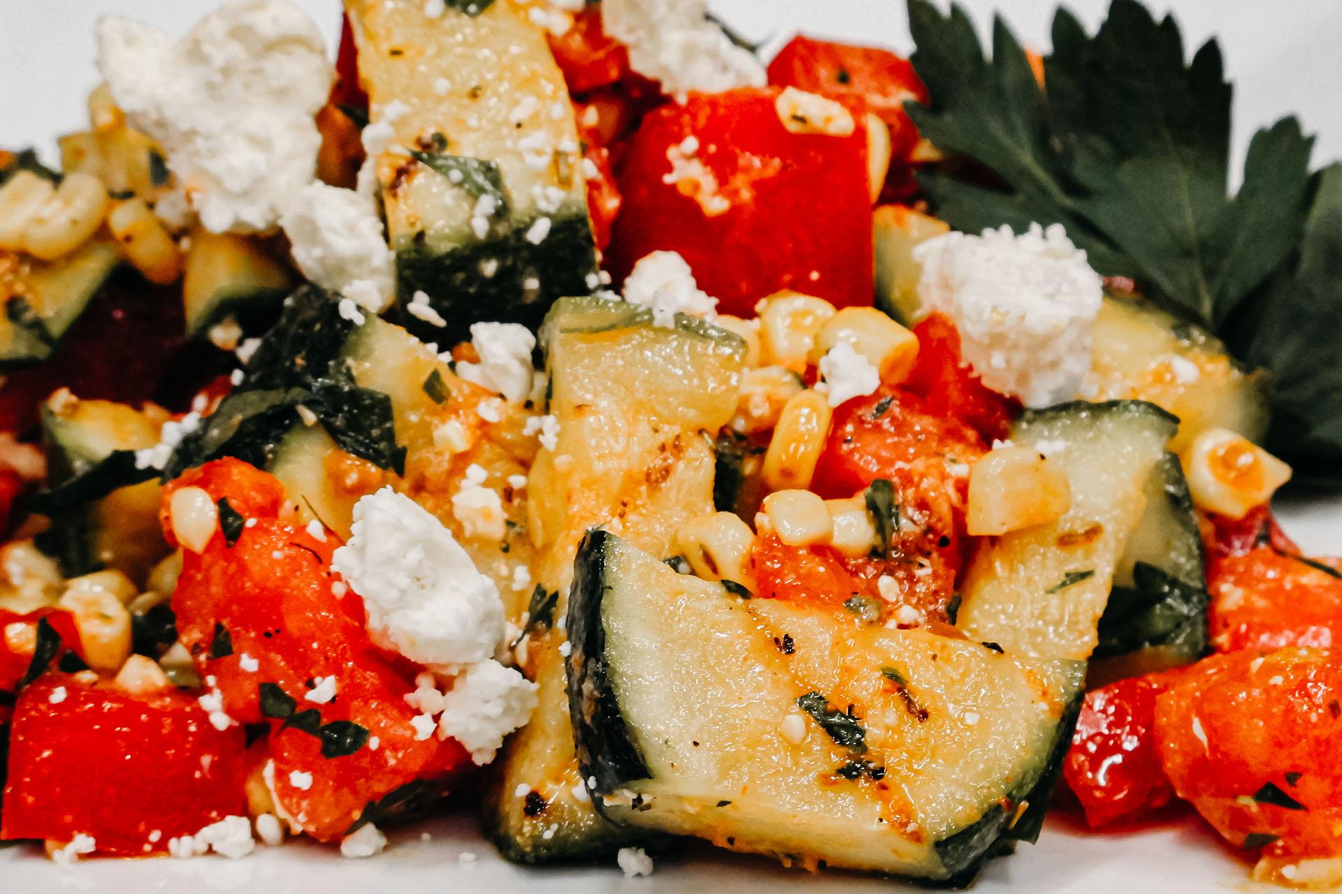 Bone Suckin' Grilled Veggie Salad