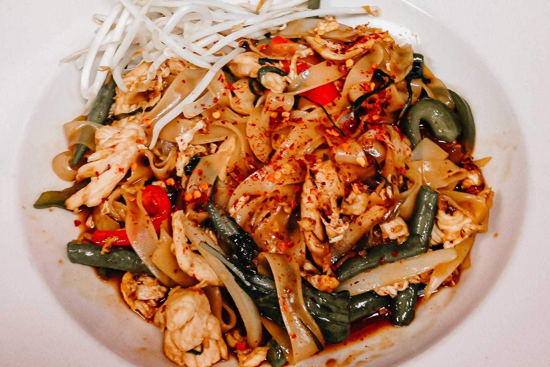 Bone Suckin' Thai Drunken Yaki Noodles